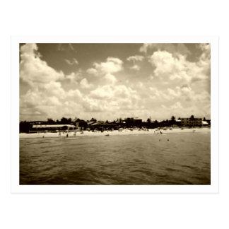Vintage Fort Myers Beach Postcard