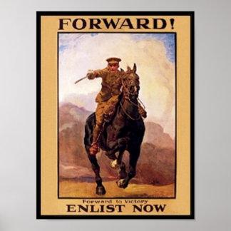 Vintage Forward, Enlist Now Poster