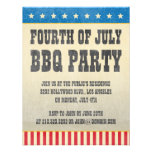 Vintage Fourth of July Party Invitation