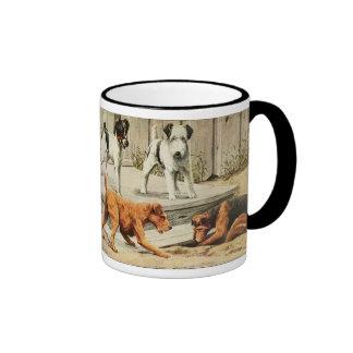 Vintage Fox, Wire Fox, Welsh, and Irish Terriers Mugs
