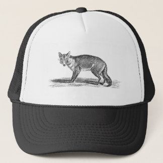 Vintage Foxy Fox Illustration - 1800's Foxes Trucker Hat