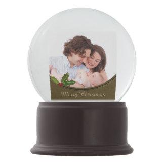 Vintage Frame Family Photo Snow Globe