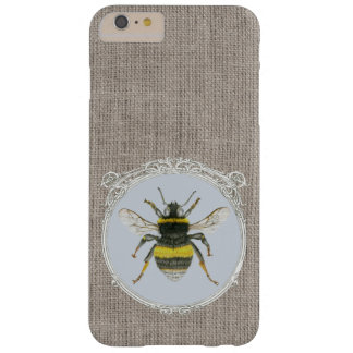 Vintage Framed Bumblebee iPhone 6 Plus Case