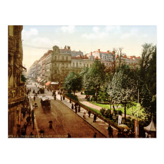 Vintage France Alsace-Lorraine Street Toulouse Postcards