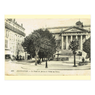 Vintage France,   Angouleme, Palais de Justice Postcard