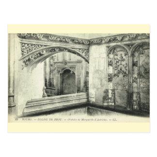 Vintage France, Bourg en Bresse, Eglise de Brou Postcard