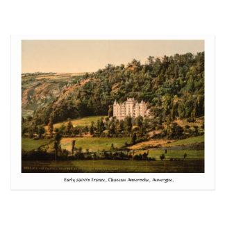 Vintage France Chateau Anteroche Postcard
