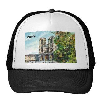 Vintage France, Notre Dame de Paris Mesh Hat