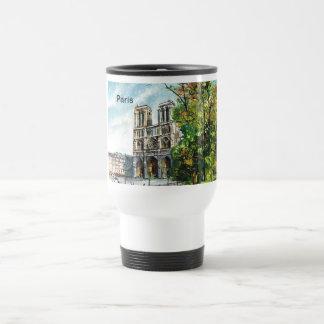 Vintage France, Notre Dame de Paris Mug