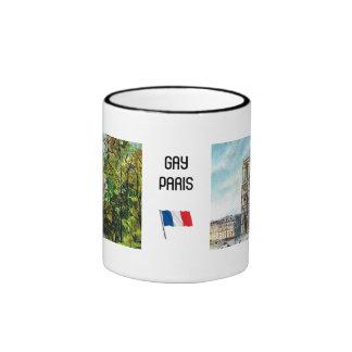 Vintage France, Notre Dame de Paris Mugs