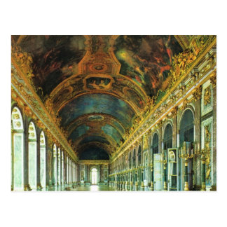 Vintage France, Palace of Versailles Postcard