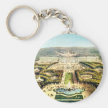 Vintage France, Palais de Versailles Basic Round Button Key Ring