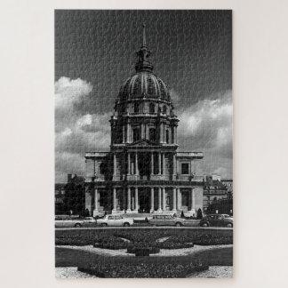 Vintage France Paris Church Saint Louis Invalides Jigsaw Puzzle
