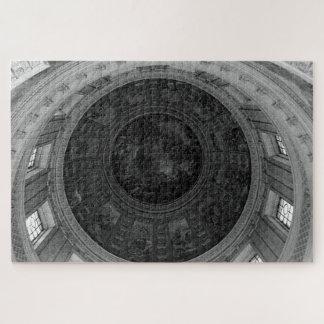 Vintage France Paris dome fresco Charles la fosse Jigsaw Puzzle