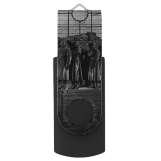 Vintage France Paris Invalides marshal foch tomb USB Flash Drive