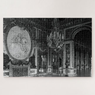 Vintage France Versailles palace hall of war Jigsaw Puzzle