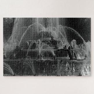 Vintage France Versailles palace Latona Fountain Jigsaw Puzzle