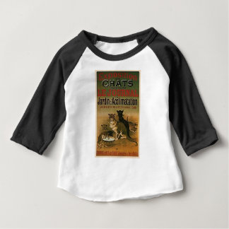 Vintage French Advertisement - cats Baby T-Shirt