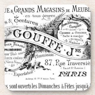 Vintage French Advertisement - Cork Coaster