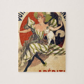 Vintage French Advertisement Jigsaw Puzzle