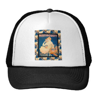 Vintage French advertising 1930s Mesh Hats