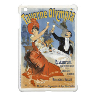 Vintage French Advertising Taverne Olympia iPad Mini Cover