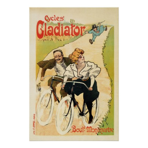 Vintage French bicycle advertising Posters