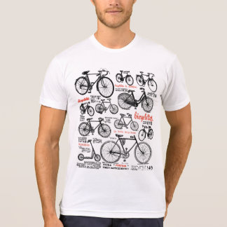 Vintage French Bicycle Catalog Ad Design Shirt