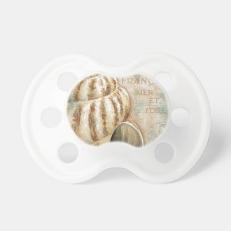Vintage French Conch Shell Pacifiers