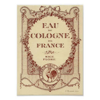 Vintage French Country Ad Label France Poster