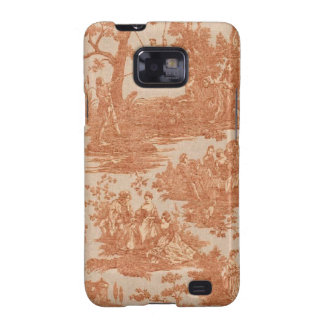 Vintage French Country Toile Case Samsung Galaxy Galaxy SII Cases