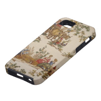 Vintage French Country Toile  iPhone 5 Vibe Case