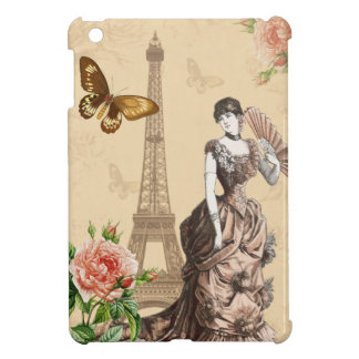 Vintage french fashion elegant ipad mini case