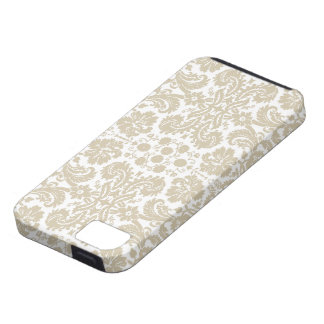 Vintage French floral inspired art nouveau Tough iPhone 5 Case