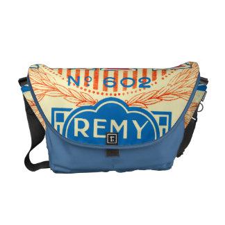 Vintage French Label Art Commuter Bag