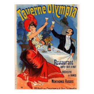 Vintage French Lady Postcard