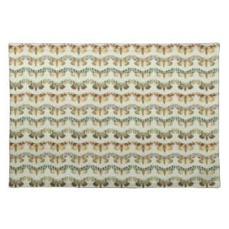 Vintage French Moths Place Mat