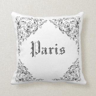Vintage French Paris illustrations  - MoJo Pillows