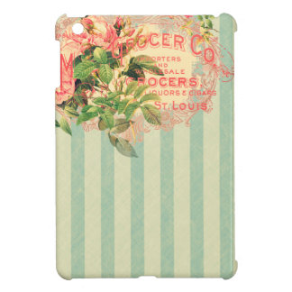 Vintage French, roses and advertising postcard iPad Mini Covers