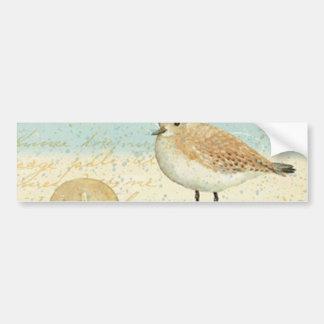 Vintage French Sand Piper Bumper Sticker