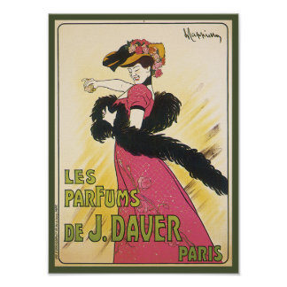 Vintage French Soap Art Poster