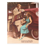 Vintage French St Valentine's Postcard 1