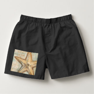 Vintage French Starfish Art Boxers