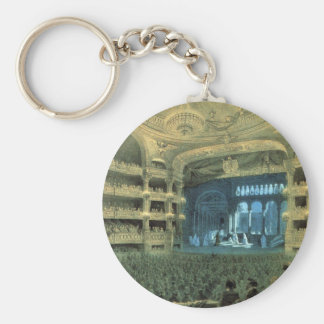 VINTAGE FRENCH THEATRE, OLD FRENCH THEATRE OPERA KEY RING