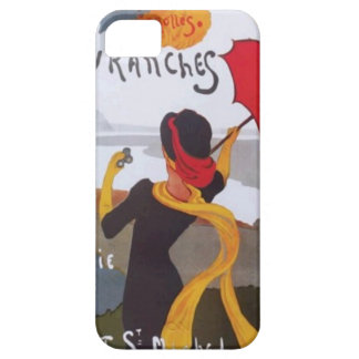 Vintage French Travel Ad 1910 iPhone 5 Covers