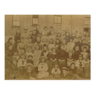 Vintage French Village photograph 1900 Postcard