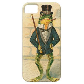Vintage Frog iPhone 5 Cover