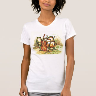 Vintage Frog Musicians Band Orchestra with Singers T-Shirt