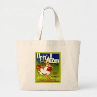 Vintage Fruit Crate Label Tote Bags