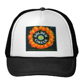 Vintage Fruit Crate Label Trucker Hats